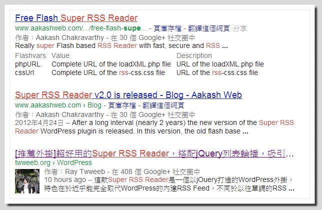 讓Google搜尋結果中顯示作者資訊,提供Google +聯絡資料 -01
