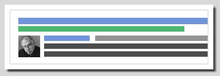 讓Google搜尋結果中顯示作者資訊,提供Google +聯絡資料 -authorship-expmple