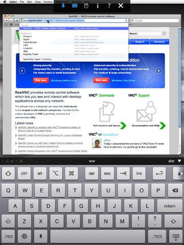 [遠端遙控] VNC Viewer 在 iOS / Android 上遙控公司電腦或是家裡電腦 - 04